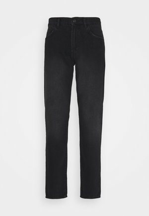 MID RISE REGULAR TAPERED - Jeans Tapered Fit - black