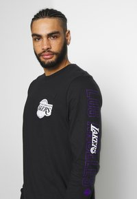 Nike Performance - NBA LOS ANGELES LAKERS LONG SLEEVE - Equipación de clubes - black - 3