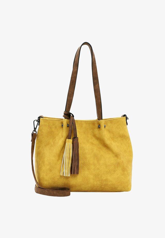 SURPRISE - Shopping bag - yellow cognac 482