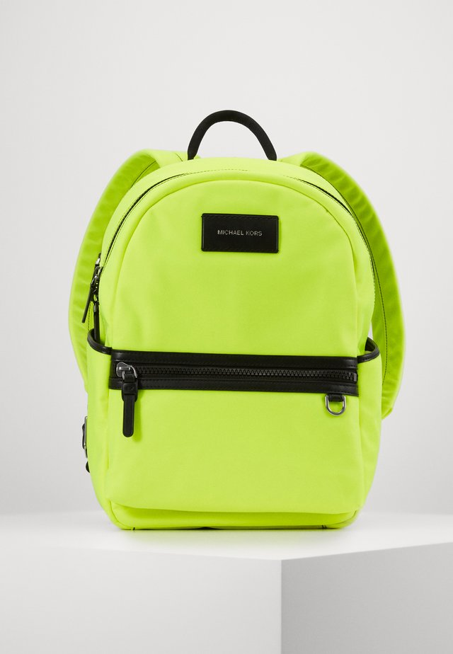 BROOKLYN BACKPACK - Reppu - neon yellow