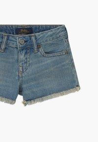 Polo Ralph Lauren - BOTTOMS - Denim shorts - dark-blue denim - 3