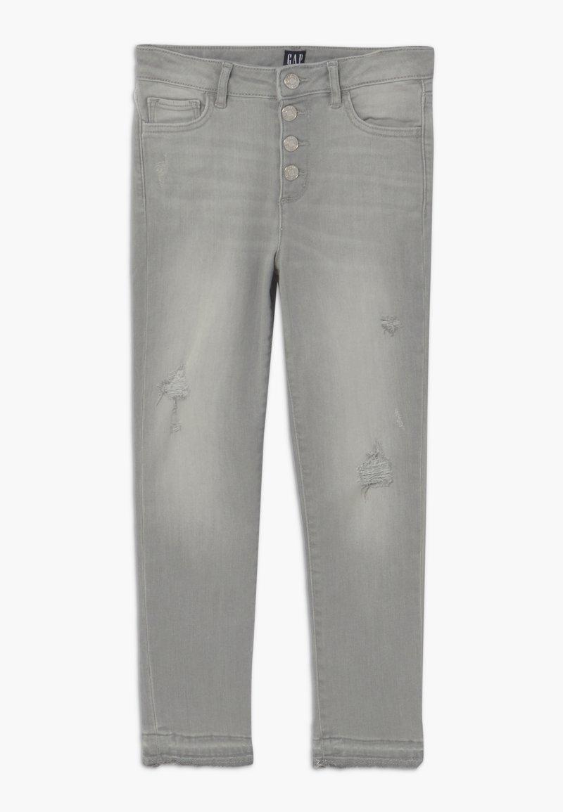 GAP - GIRL - Skinny džíny - light grey wash