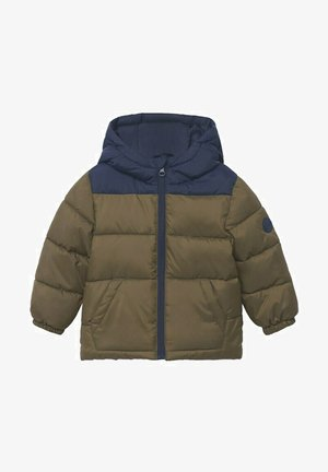 HOOD QUILTED - Jas - khaki