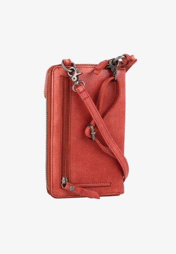 JUST RFID 10,5 CM - Across body bag - terra red