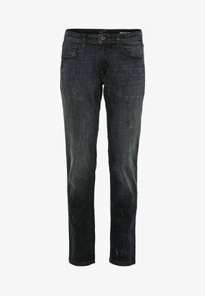 Straight leg jeans - black ink blue