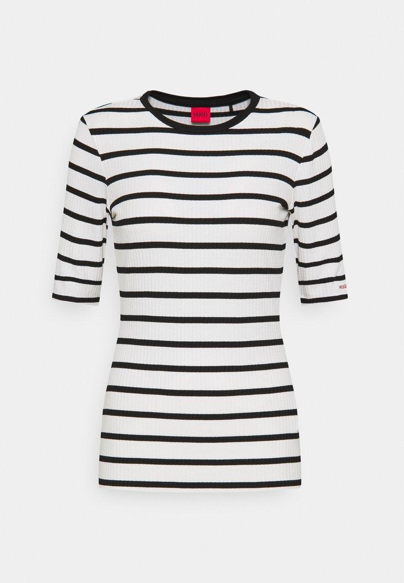 HUGO - NILARA - Print T-shirt - white