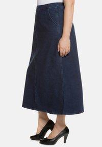 Ulla Popken - A-line skirt - darkblue - 2