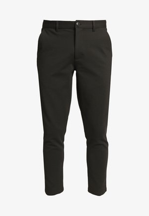 PANTS DAVE BARRO - Trousers - black