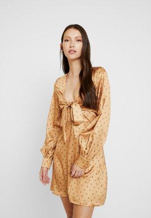 ZORO - Day dress - gold base