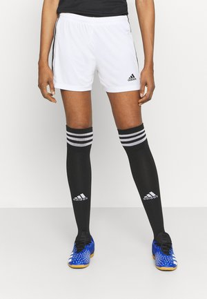 SQUADRA - Sports shorts - white/black
