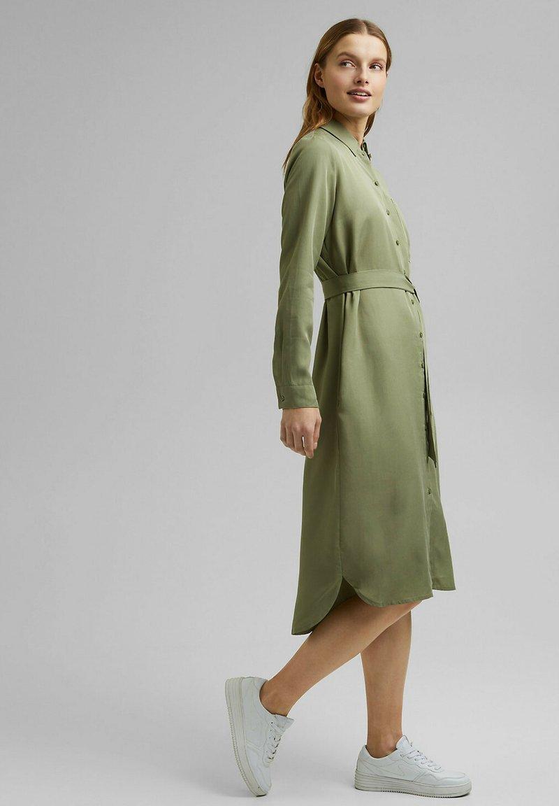 Esprit - Shirt dress - light khaki