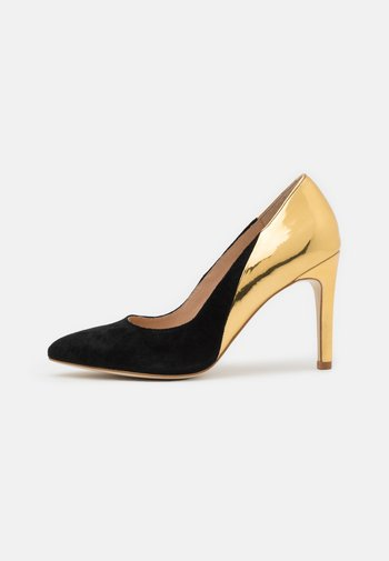 LEATHER - High heels - black