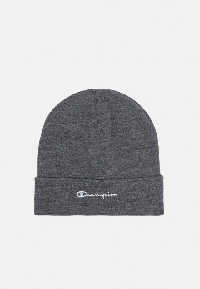 LEGACY BEANIE UNISEX - Bonnet - mottled dark grey