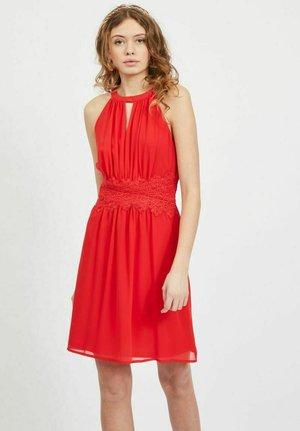 VIMILINA HALTERNECK - Vestito elegante - mars red