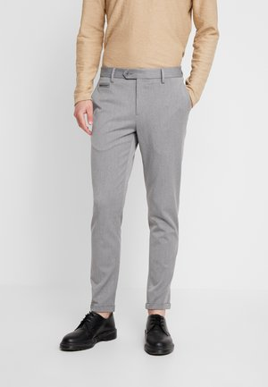 STRETCH CLUB PANTS - Tygbyxor - grey melange