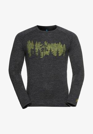 CONCORD SUMMIT - T-shirt à manches longues - dunkelgrau