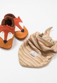 POLOLO - FUCHS SET - First shoes - castagno/orange - 0