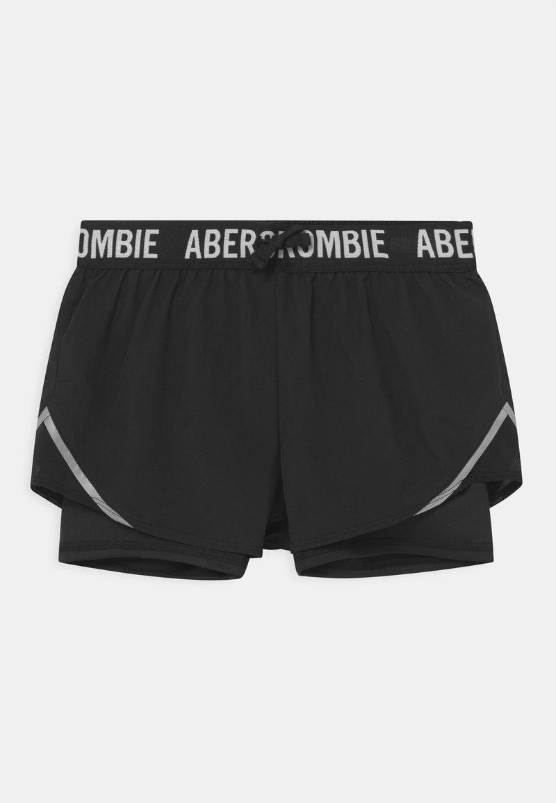 Abercrombie & Fitch - Kraťasy - black