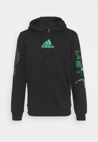 adidas Performance - X CITY HOODY - Sweatshirt - black - 5