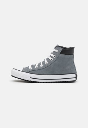 CHUCK TAYLOR ALL STAR UNISEX - High-top trainers - limestone grey/white/black