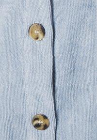 Missguided Petite - RAW HEM DRESS - Shirt dress - baby blue - 2