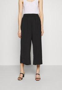 Second Female - MINGA NEW TROUSERS - Kalhoty - black beauty - 0