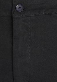 NU-IN - FRONT CREASE PANTS - Kangashousut - black - 5