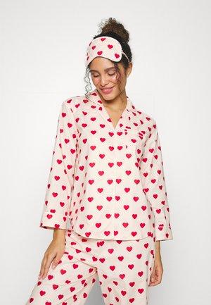 ONLELLIE NIGHTWEAR - Pižame - pink/red