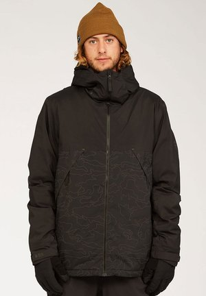 Winter jacket - blk reflec camo