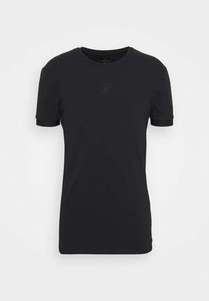 INSET CUFF GYM TEE - Basic T-shirt - black