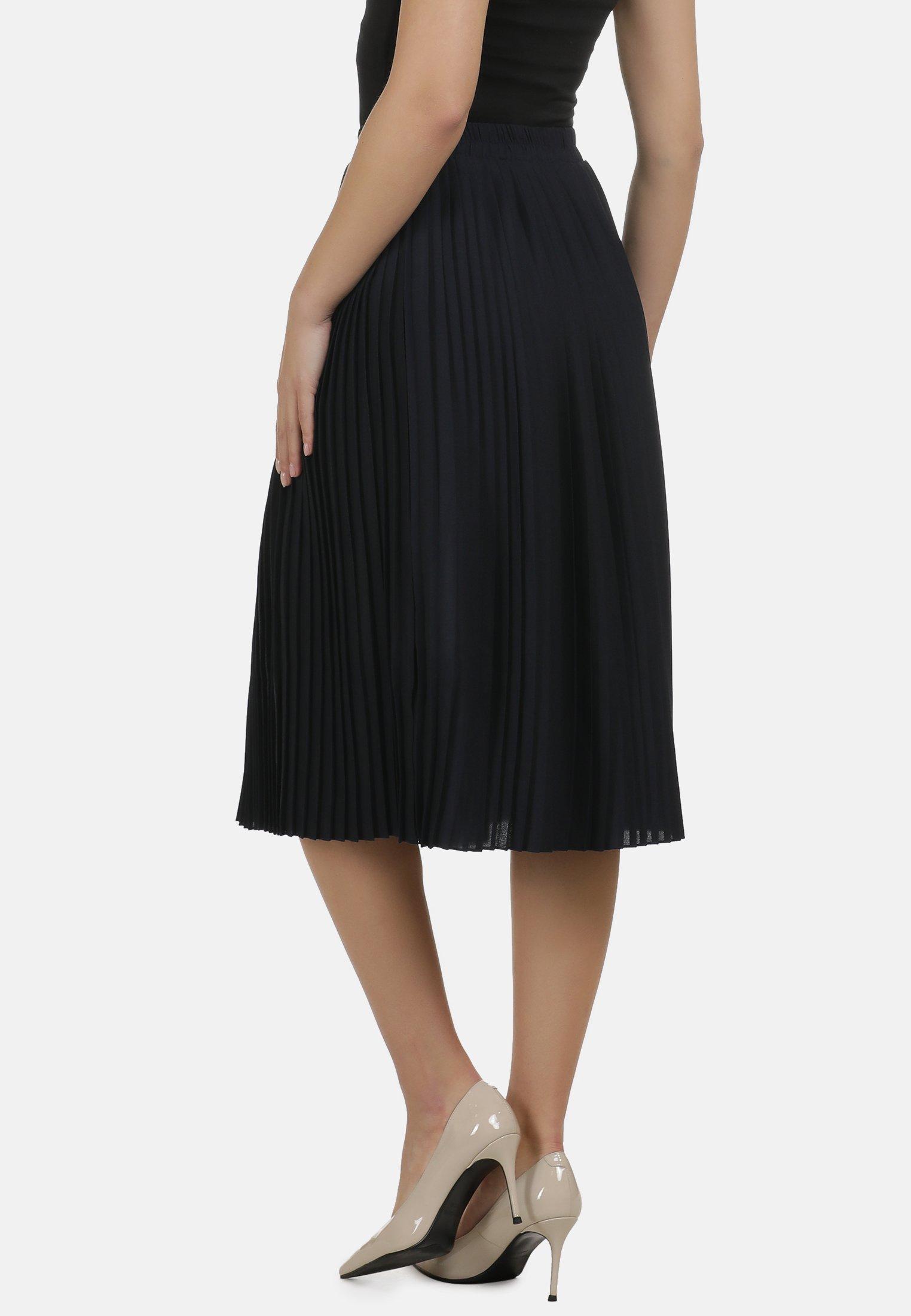 Amazing Price Women's Clothing DreiMaster A-line skirt marine VlTz0rxyW