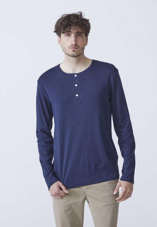 LARRY - T-shirt à manches longues - dark blue
