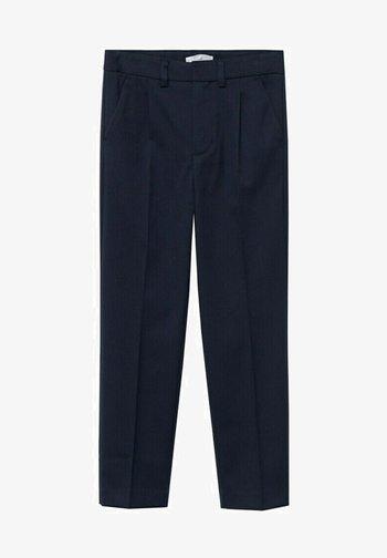 Oblekové kalhoty - dark navy