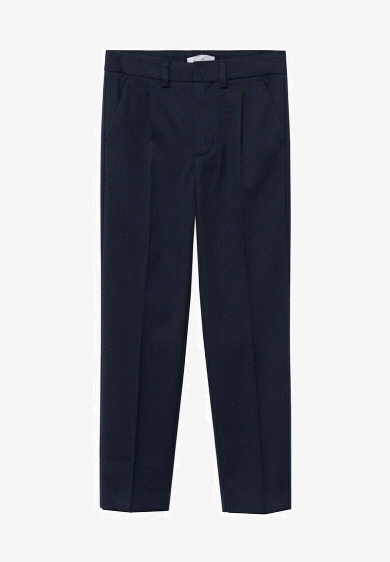 Mango - Suit trousers - dark navy