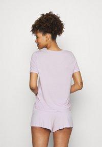 Anna Field - Basic short set - Pyjama - lilac - 2