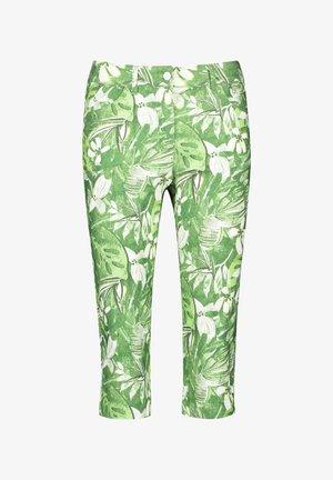Trousers - grün/hellgrün/weiß