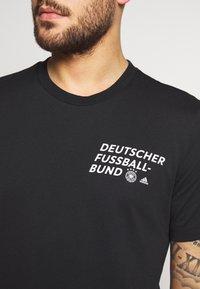 adidas Performance - DFB DEUTSCHLAND TEE - Equipación de selecciones - black - 4