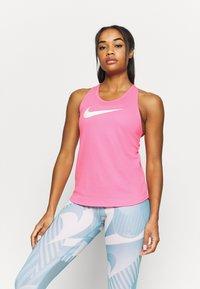 Nike Performance - RUN TANK - Camiseta de deporte - pink glow/white - 0