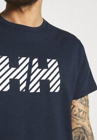 Helly Hansen - ACTIVE - Print T-shirt - navy - 4