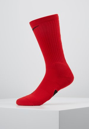 ELITE CREW - Sports socks - university red/black