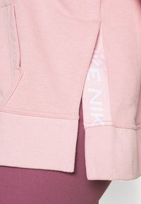 Nike Performance - DRY GET FIT - Zip-up sweatshirt - pink glaze/white - 5