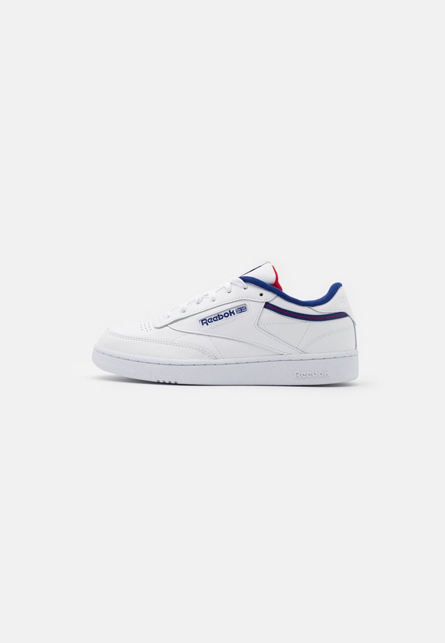 CLUB C 85 - Trainers - white/deep cobalt/vector red