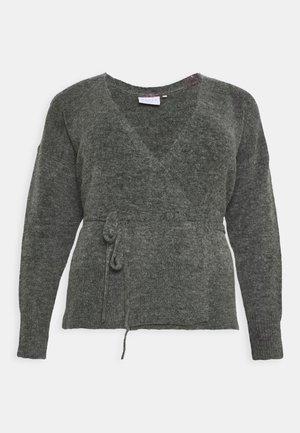 KCWELLY WRAP - Vest - dark grey mélange