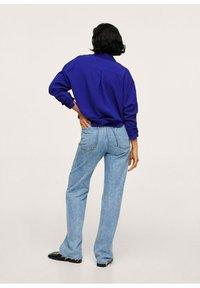 Mango - Button-down blouse - bleu - 2