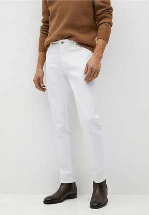 JAN - Jeans slim fit - blanco