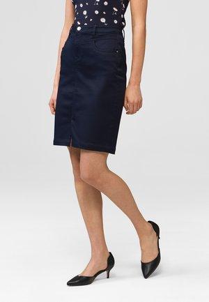 Denim skirt - nachtblau