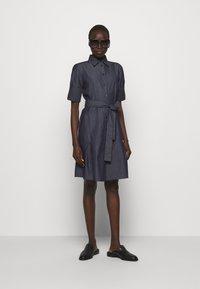 HUGO - ELITH - Denim dress - open blue - 1