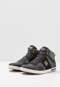 Pantofola d'Oro - MILITO UOMO MID - High-top trainers - dark shadow - 2