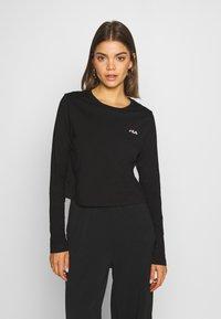 Fila - EAVEN - Long sleeved top - black - 0