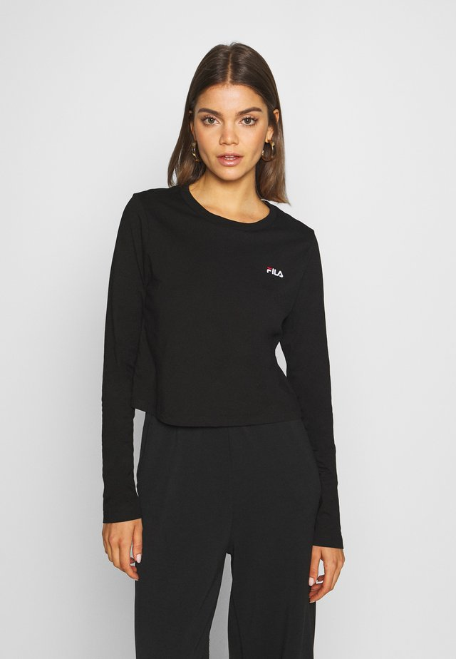 EAVEN - Long sleeved top - black
